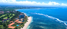 The first area in Bali that has been developed by the tourism industry and transformed to a place th..